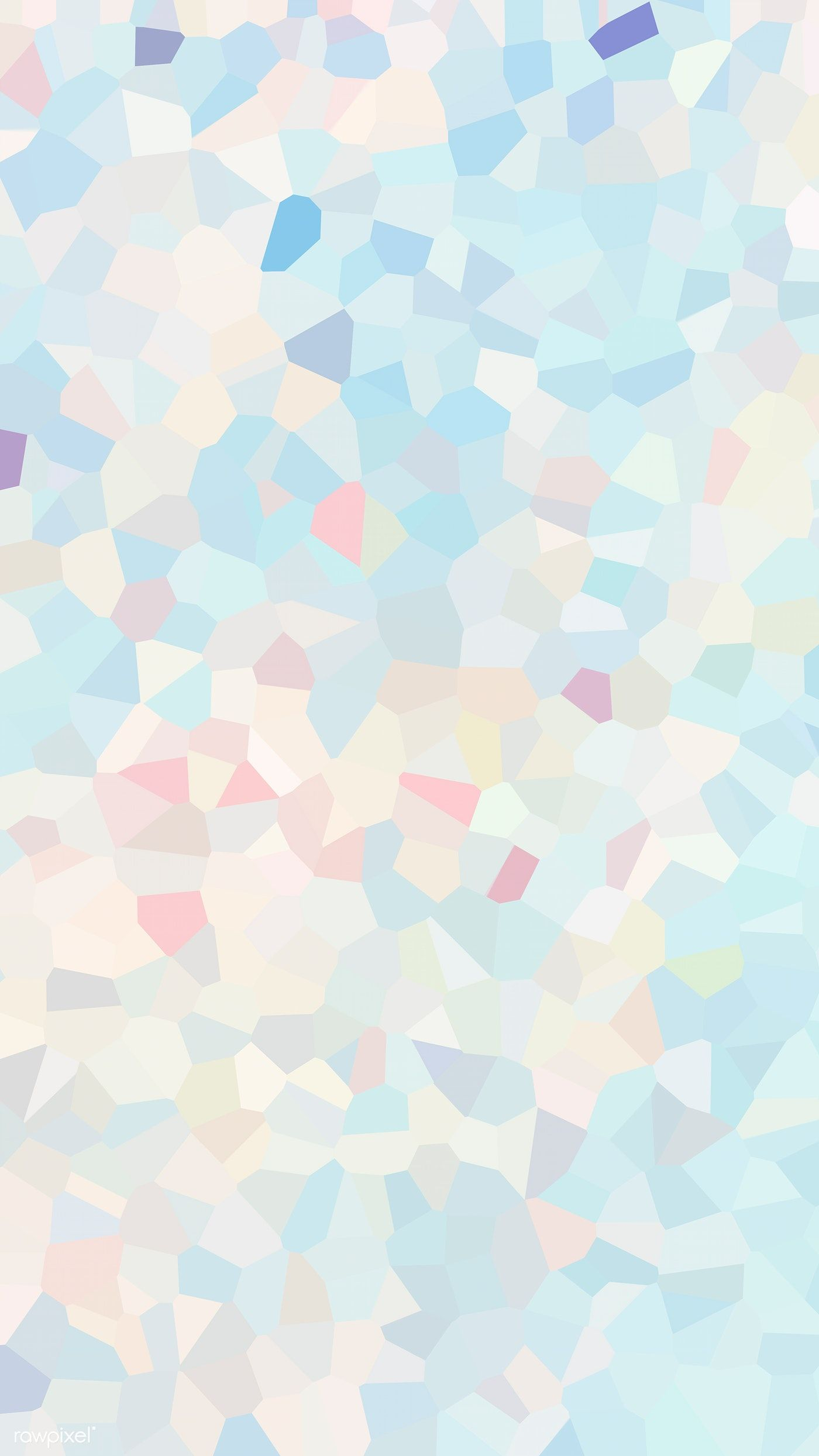 Download premium illustration of Blue polygon abstract mobile phone