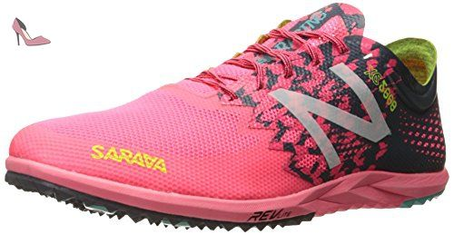 New Balance Women's 5000v3 Track Spike Running Shoe, Pink/Black, 11 B US
