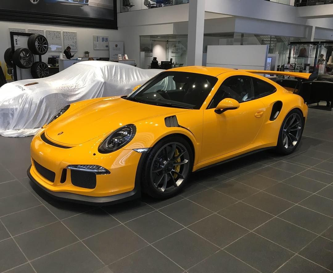 The First Known Pts Signal Yellow 991 Gt3 Rs Has Just Been