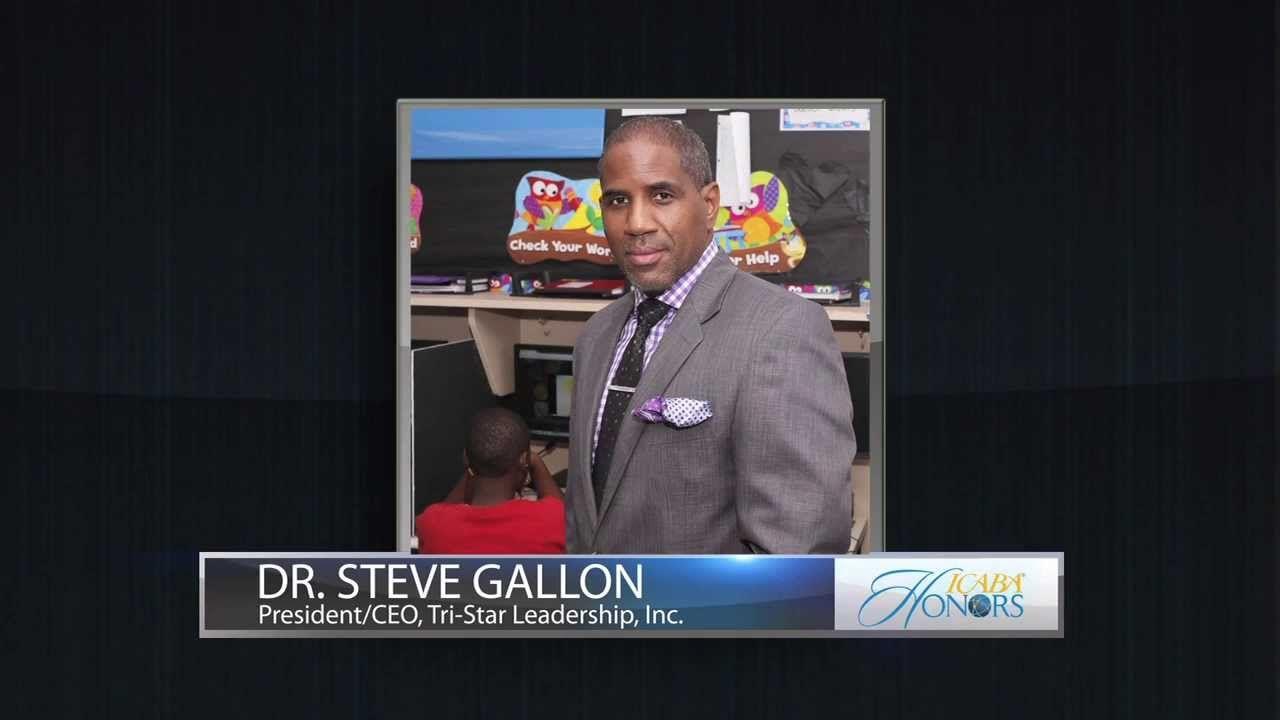 Dr steve gallon iii is a lifelong educator who started