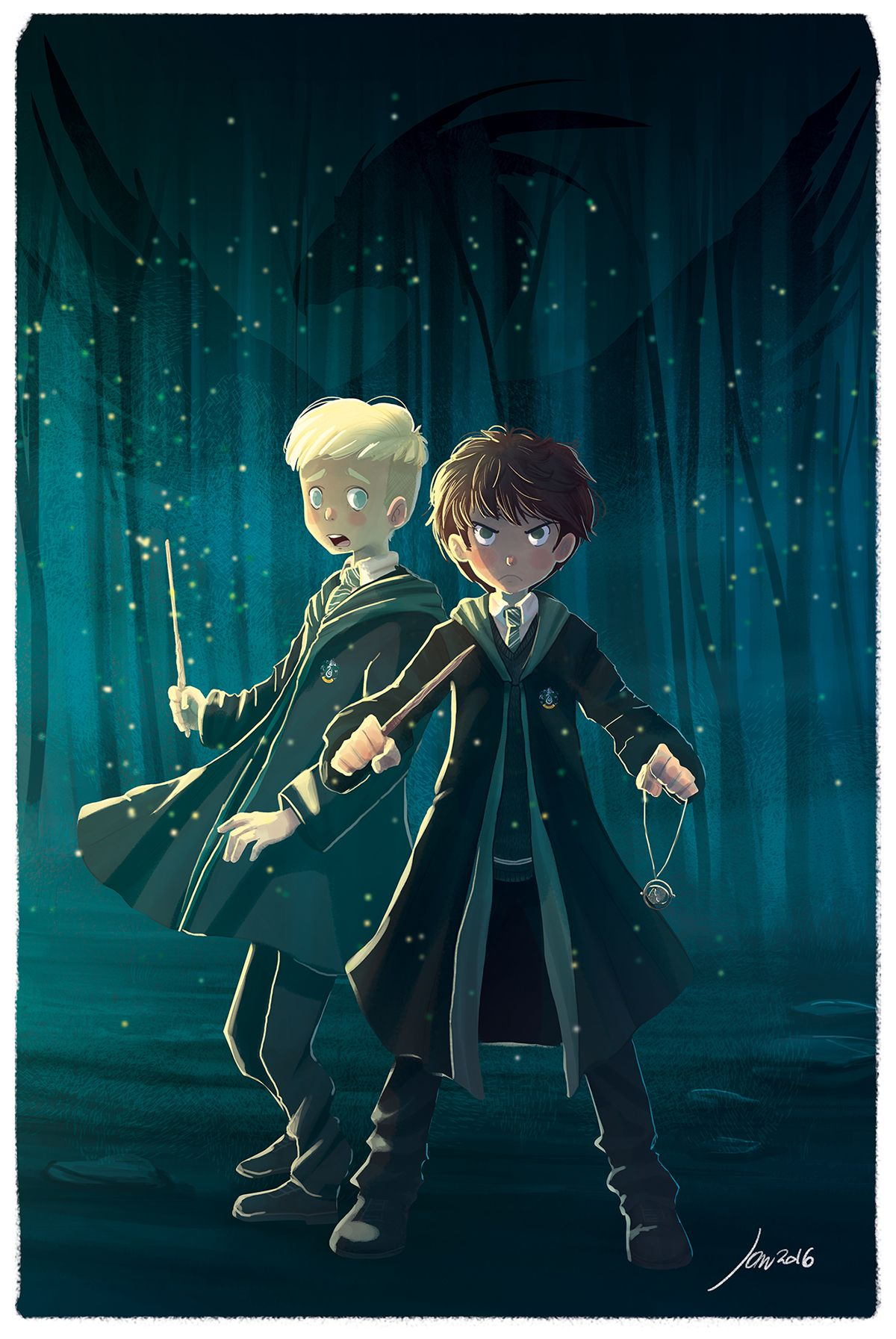 Harry Potter And The Cursed Child Fanart On Behance Harry Potter Cursed Child Harry Potter Artwork Harry Potter Drawings