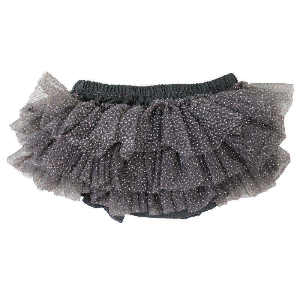 Charcoal Gray Sparkle Tutu Bloomer