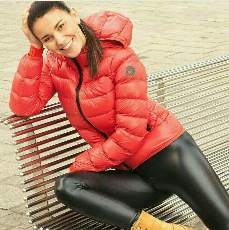 Lederlady | Leder leggings, Frauen in leggings, Lederhose