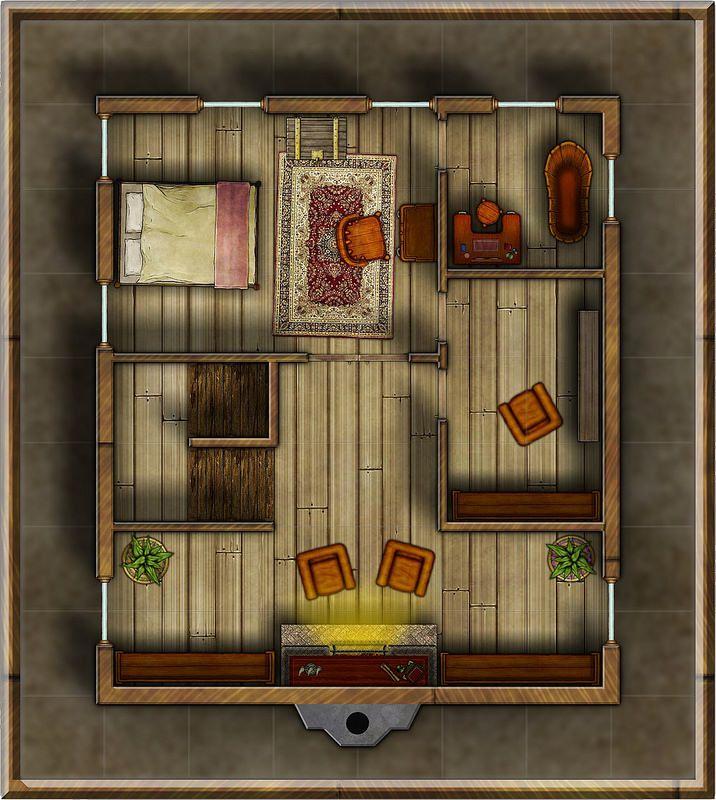 Foxglove Townhouse Third Floor