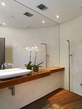 GRIFFIN ENRIGHT ARCHITECTS: Point Dume Residence - modern - powder room - los angeles - Griffin Enright Architects