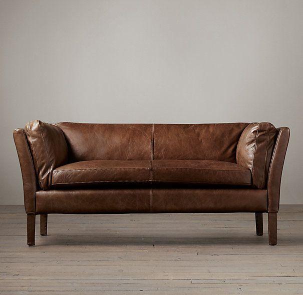 Merveilleux Decor Look Alikes | Restoration Hardware Sorensen Leather Sofa $1995 $3145  Vs $791 @wayfair