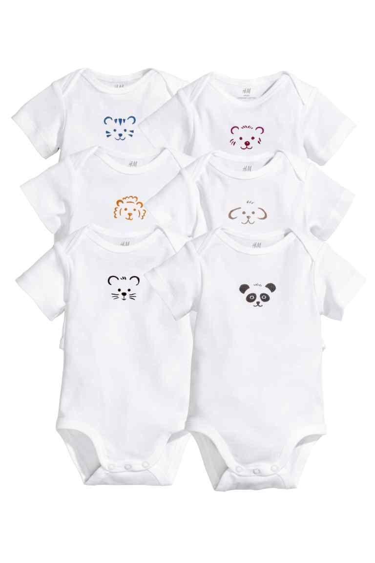 cerca ufficiale seleziona per autentico Prezzo di fabbrica 2019 Body, 6 pz   H&M   BaBy   Moda per neonati maschi, Vestiti ...