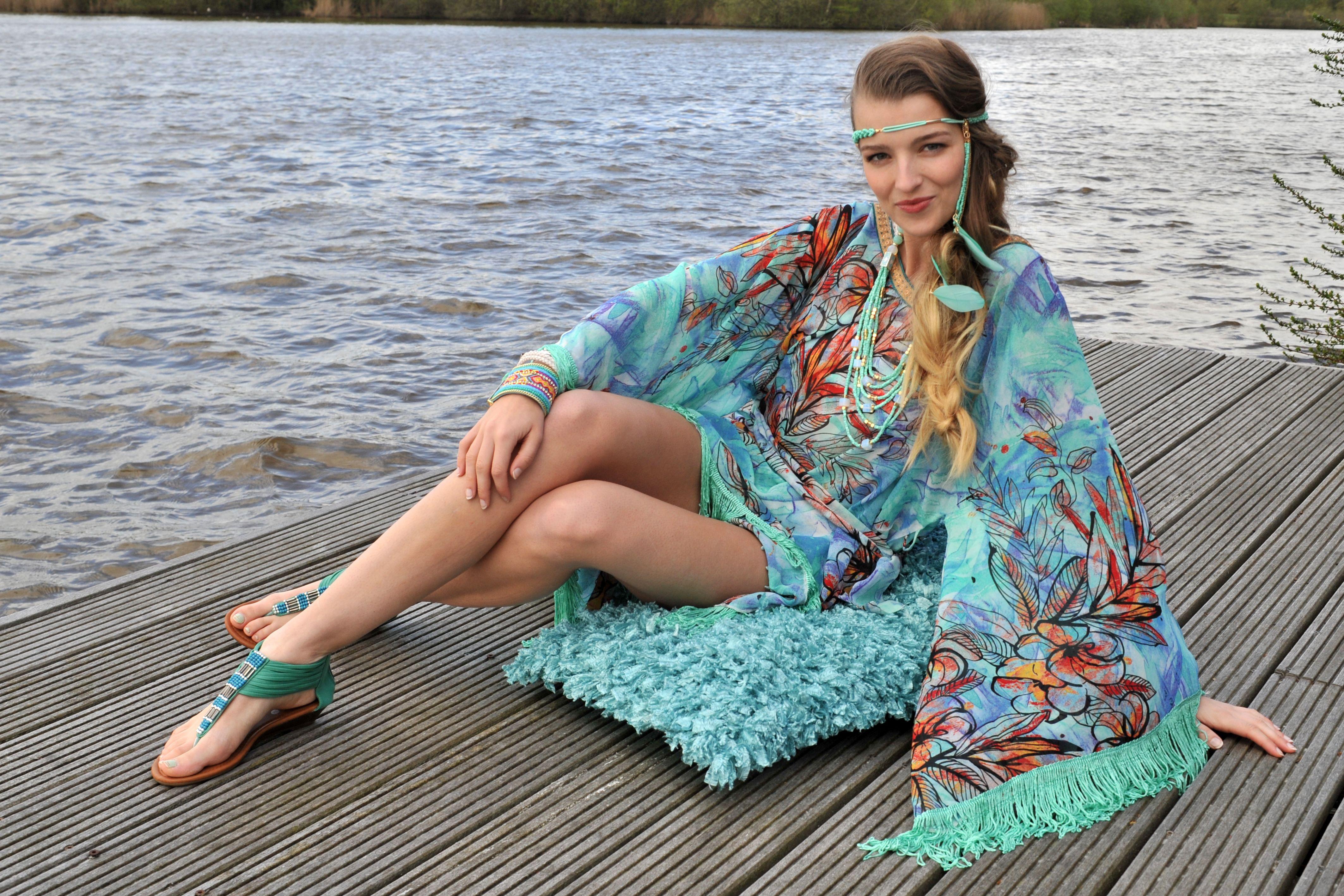 ibiza style women tunic senzua hippy chick ibiza www. Black Bedroom Furniture Sets. Home Design Ideas