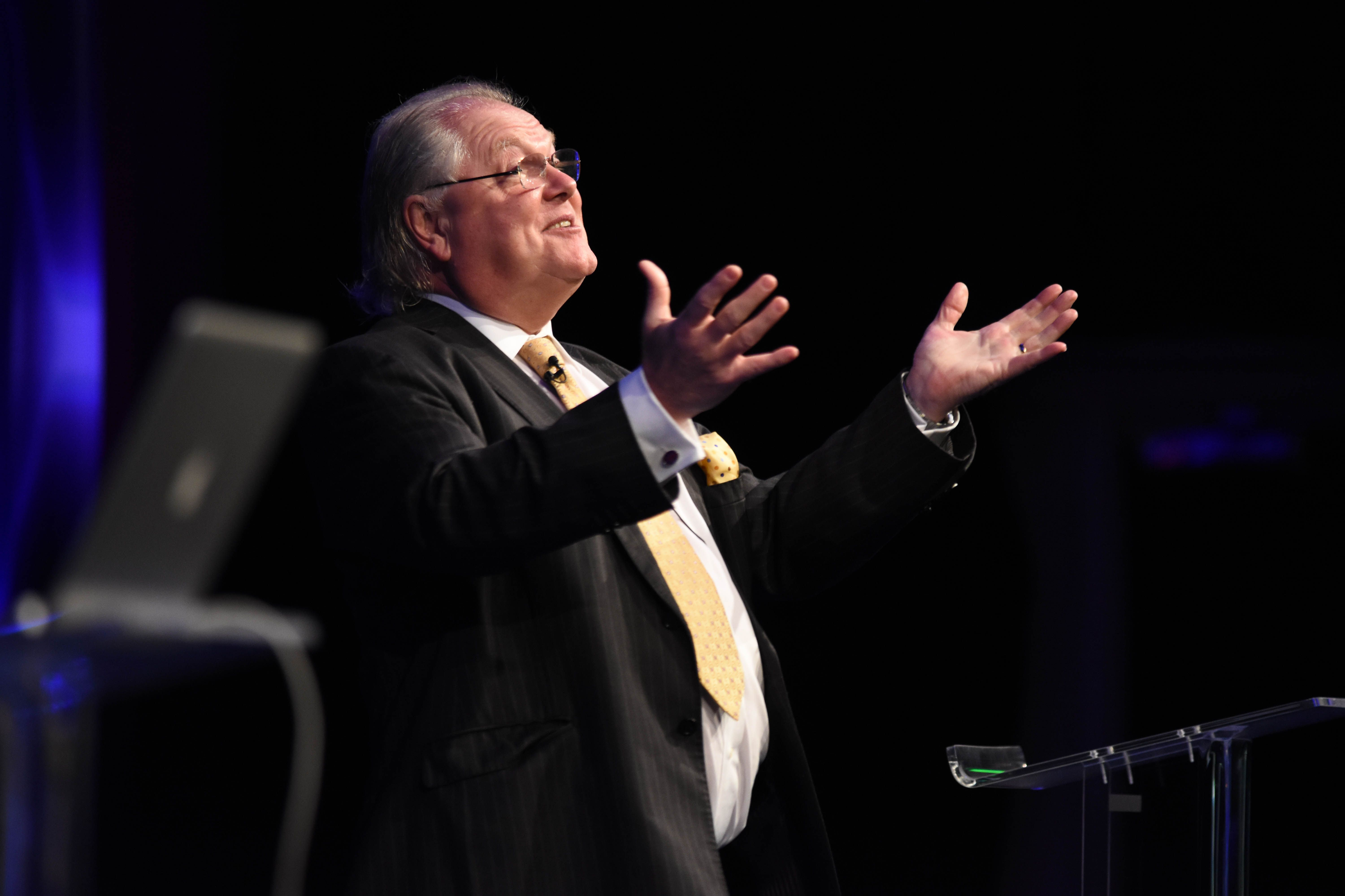 Keynote speaker, Lord Digby Jones at the CMJ Business Conference 2015