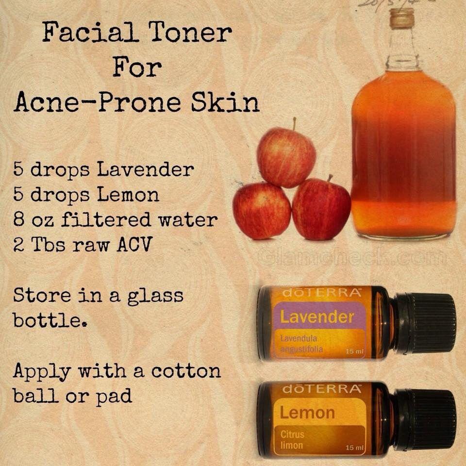 Do Terra💕 Facial toner, Acne prone skin, Acne oil