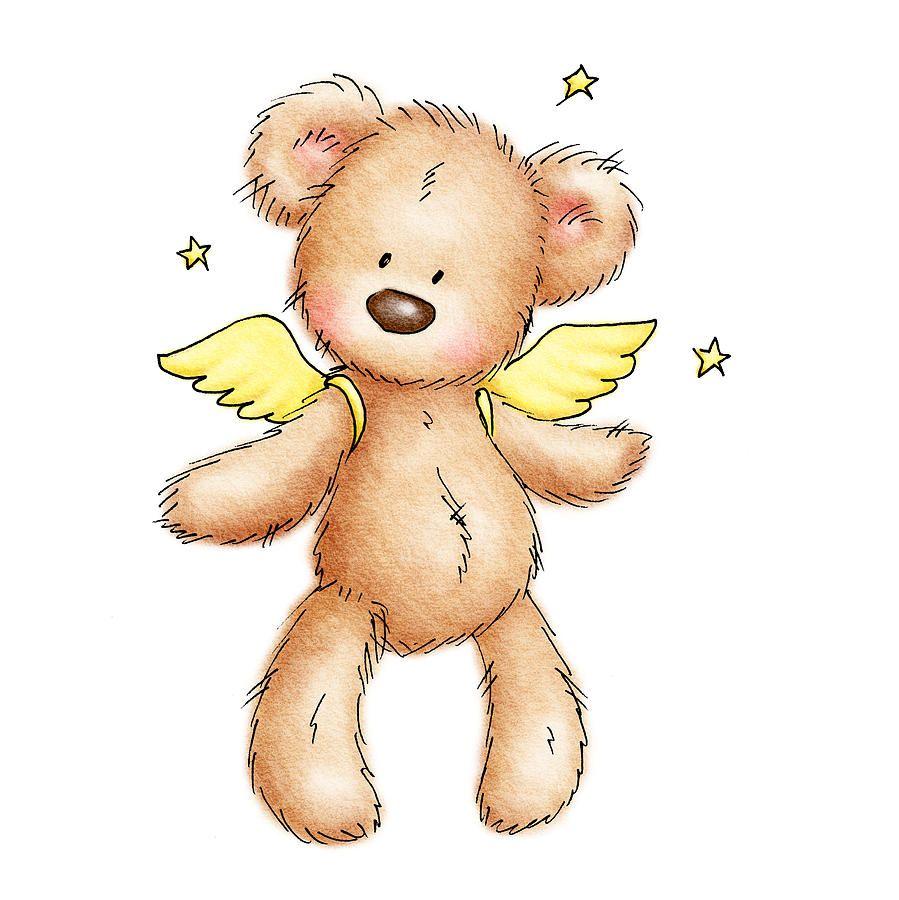 how to draw a cute teddy bear