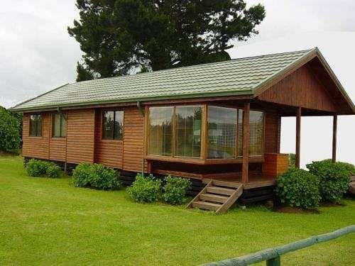 Casas prefabricadas de madera arquitetura e constru o for Casas de campo prefabricadas