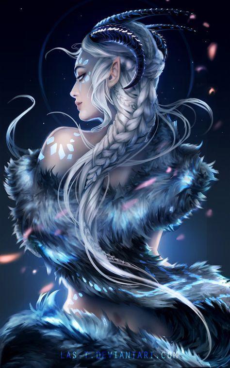 Nienn by LAS-T on DeviantArt -  Esprit du succube  - #animebun #animefantasy #animehair #animeicons #animenaruto #animesketch #animewolf #btsanime #DeviantArt #Nienn