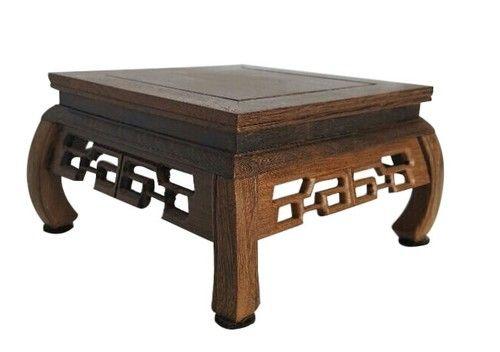 Square Ming Wooden Vase Stand Decor Pinterest Oriental Decor