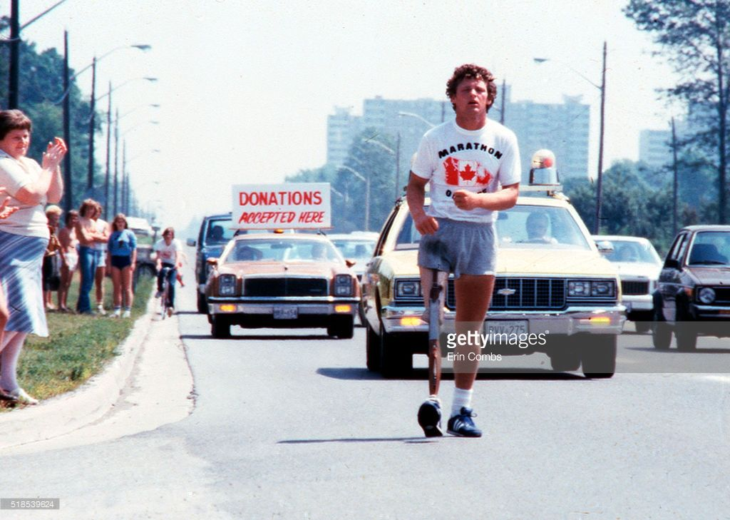 terry fox photo taken by erin combs toronto star in  terry fox photo taken by erin combs toronto star in 1980 erin