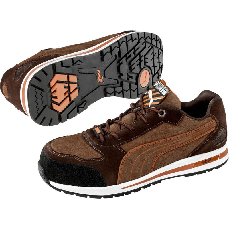 Chaussure de sécurité basse Puma 100% non métallique Barani
