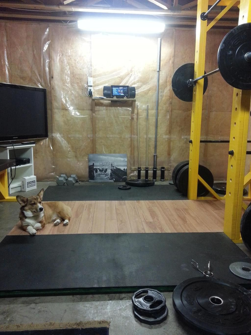 Garage Gym Reviews Diy Platform I Made A Squat Rack Power Rack And Lifting Platform For Under 200