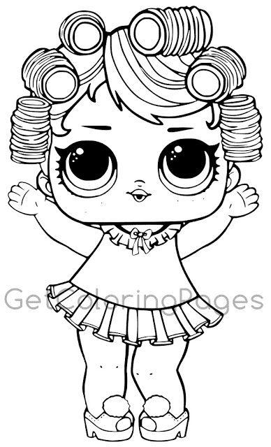 Desenhos para colorir Boneca lol   fieltro   Pinterest   Pintar, Lol ...