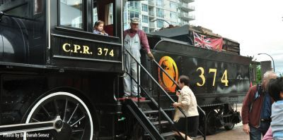 126th Anniversary of CPR Engine 374 (1887-2014) begins Sun, 18 May 2014 in #Vancouver at Roundhouse Community Arts and Recreation Centre Community, Entertainment