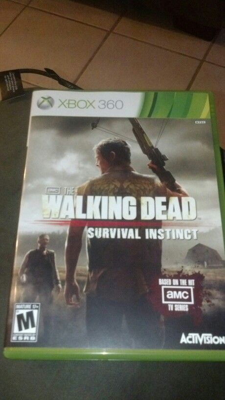 Got the new game and of course my future husband is the main character lol love Daryl Dixon!!!!!!
