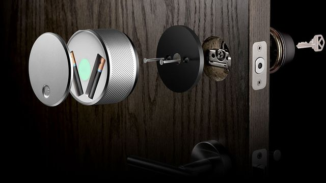 """Wer braucht schon Schlüssel, wenn man """"August Smart Lock"""" haben kann?"""