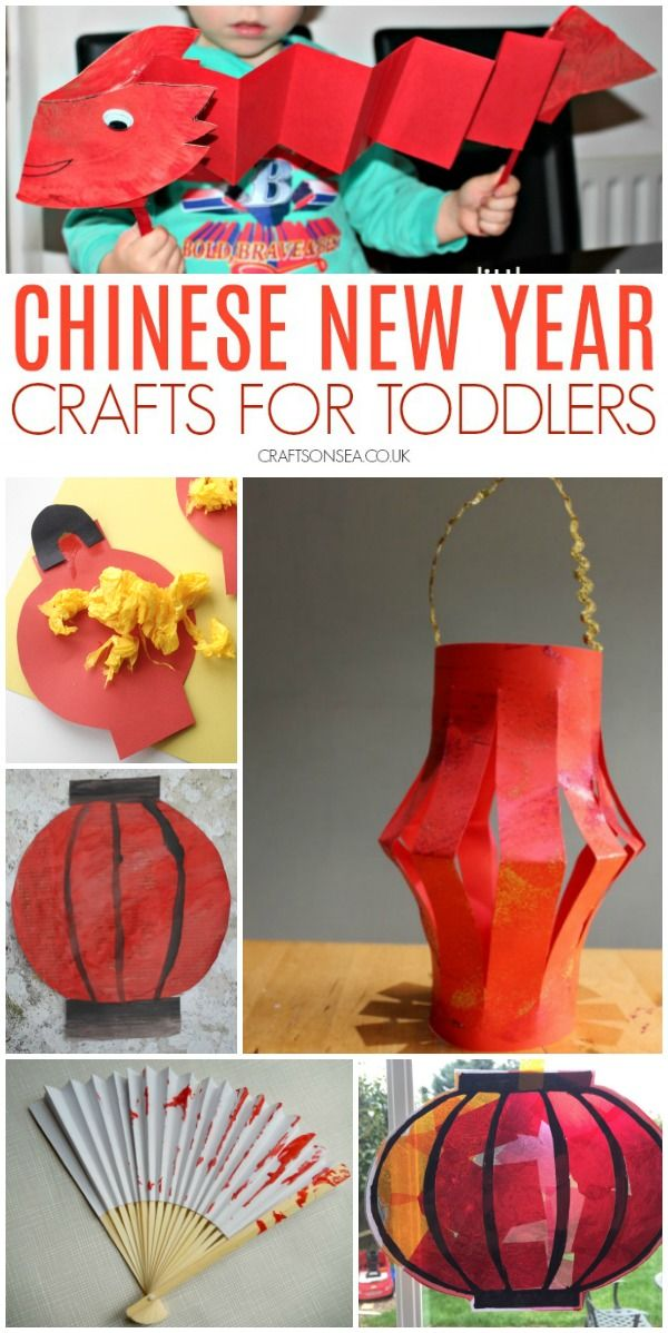 Easy Chinese New Year Crafts for Toddlers
