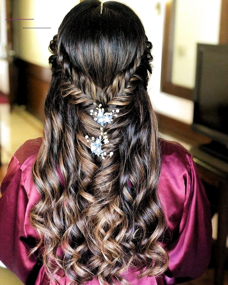17 Best Indian Hairstyles Step By Step To Suit Any Taste Simple Indian Hairstyle Step By Step H In 2020 Indian Wedding Hairstyles Hair Styles Indian Bridal Hairstyles