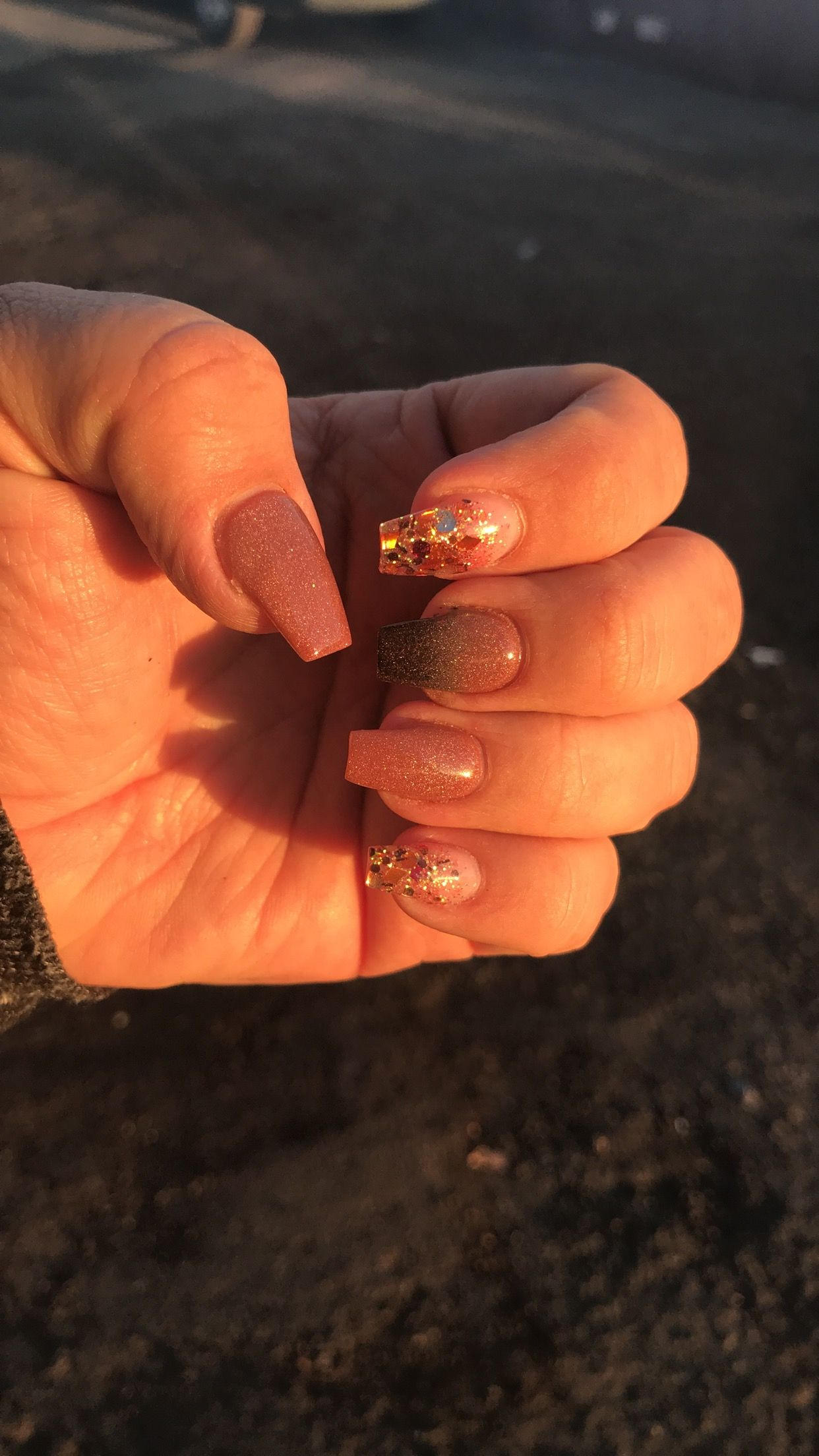 Loving my Fall Nails especially cuz it\'s been awhile since I\'ve had ...