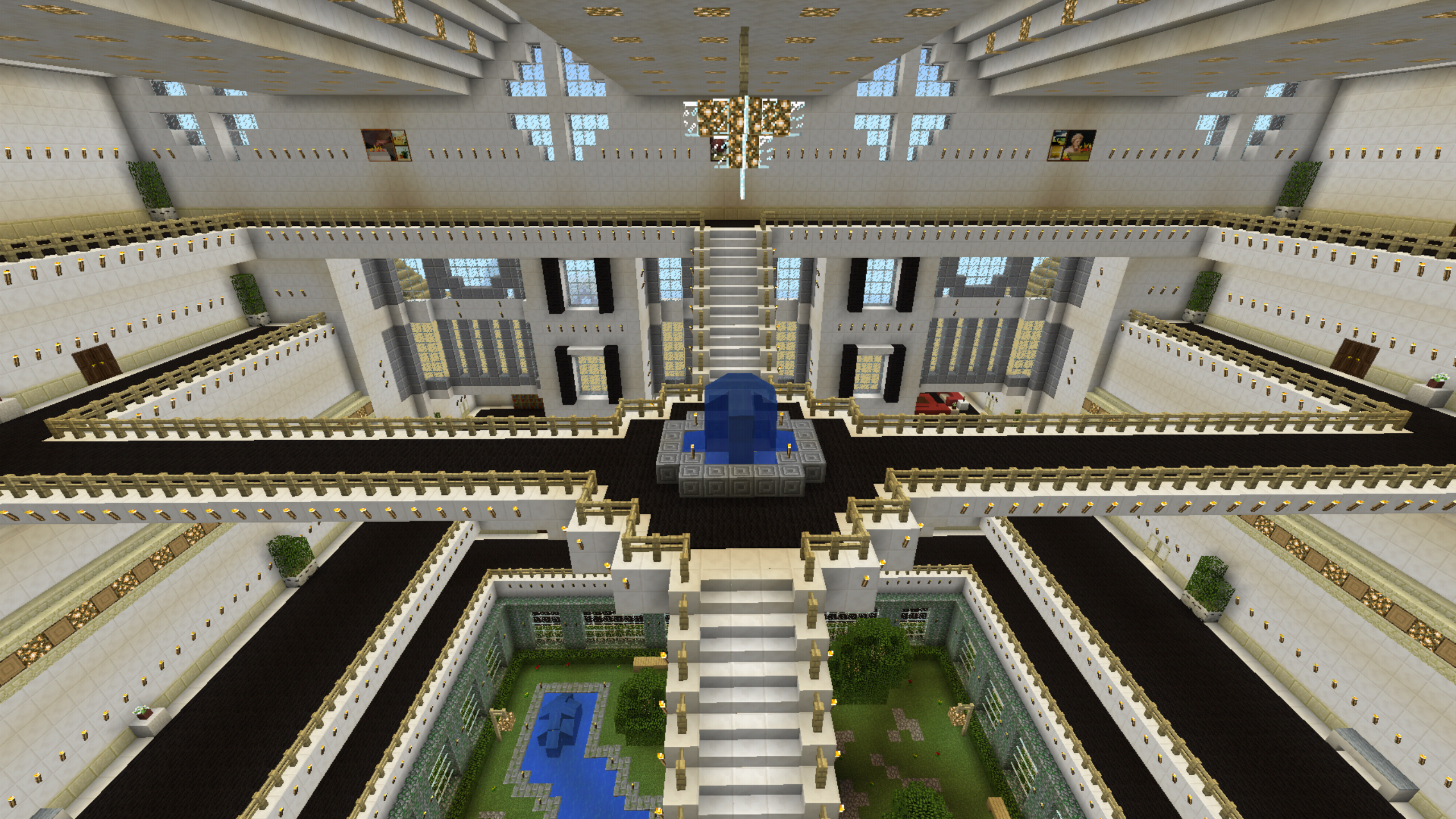 Minecraft House Interior Mansion Building Minecraft Houses