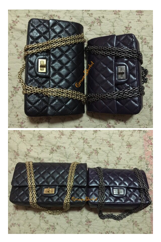c7995d94b70f52 Chanel Reissue 225 vs. 224 | Chanel Reissue Bag | Chanel reissue ...