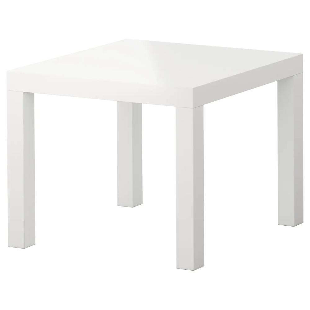 Lack Beistelltisch Hochglanz Weiss Ikea Deutschland In 2020 Ikea Beistelltisch Ikea Mangel Und Couchtisch Quadratisch
