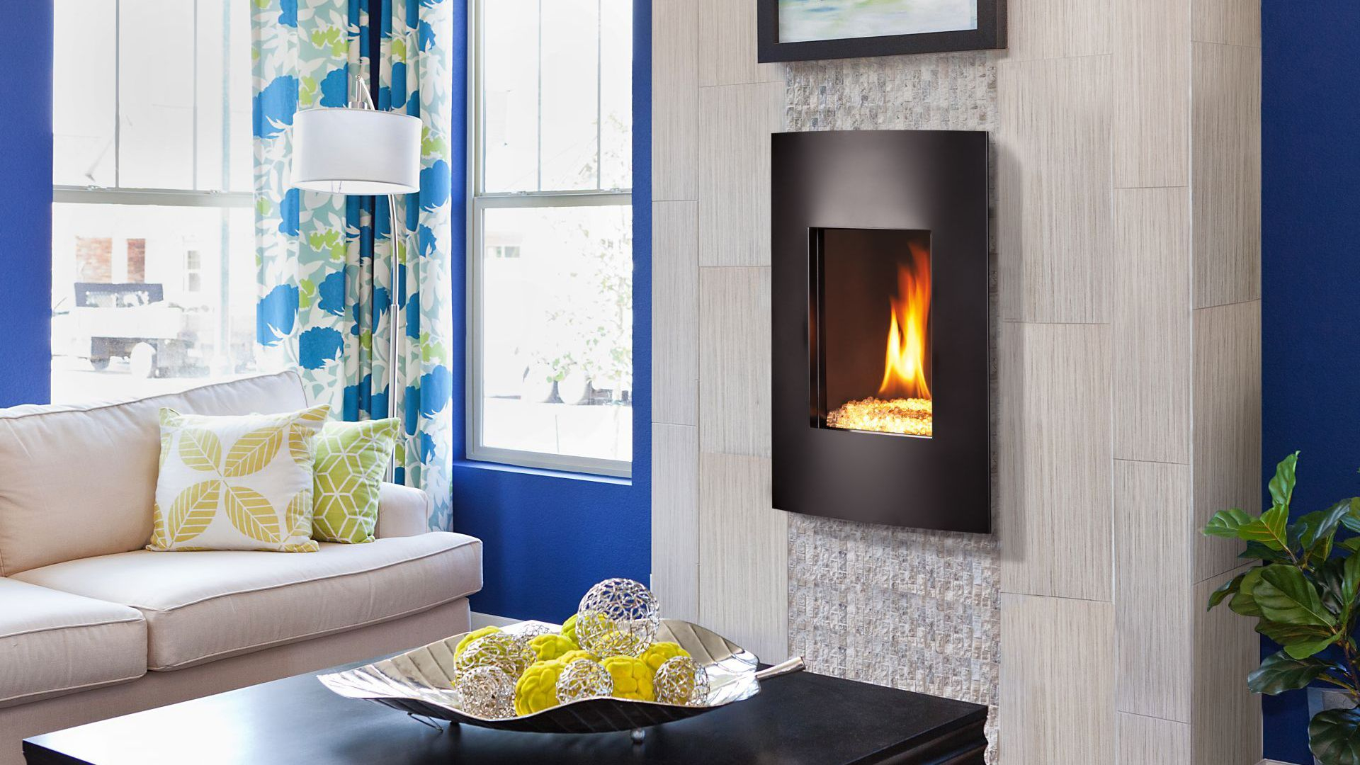 Nicollet Contemporary Gas Dv Fireplaces Kozy Heat
