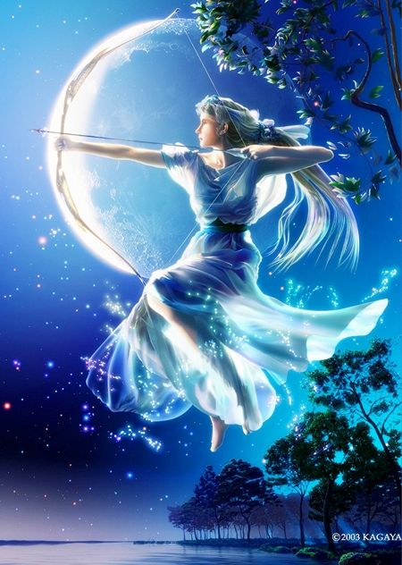 Artemis By Kagaya Artemis Pinterest Artemis Greek And Mythology
