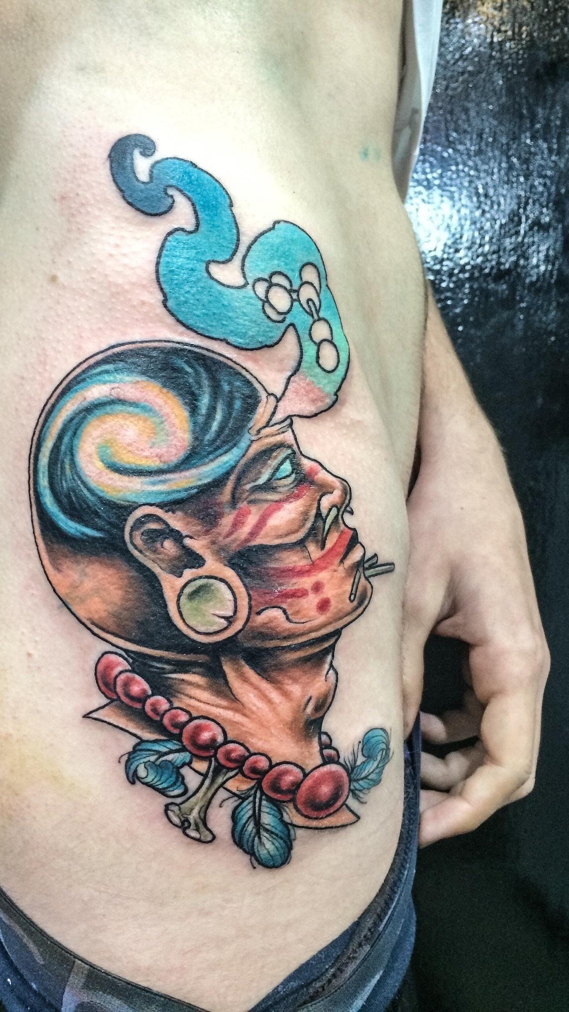 My DMT tattoo by Bradley Button - East Brunswick Tattoos - Melbourne ...