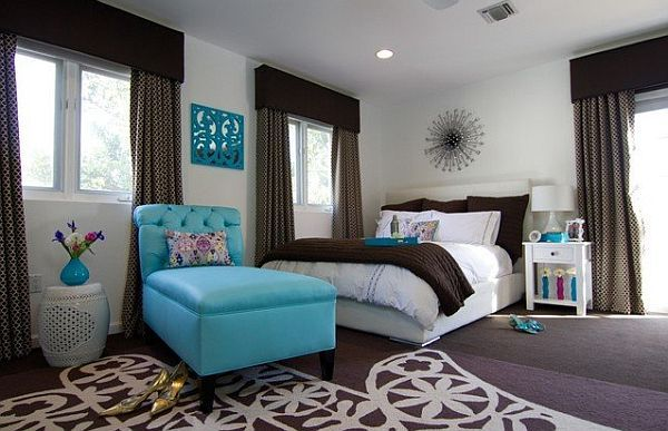 brown bedroom design. Decorating With Brown Brings Out the Best decorating with yellow  aqua design white and brown