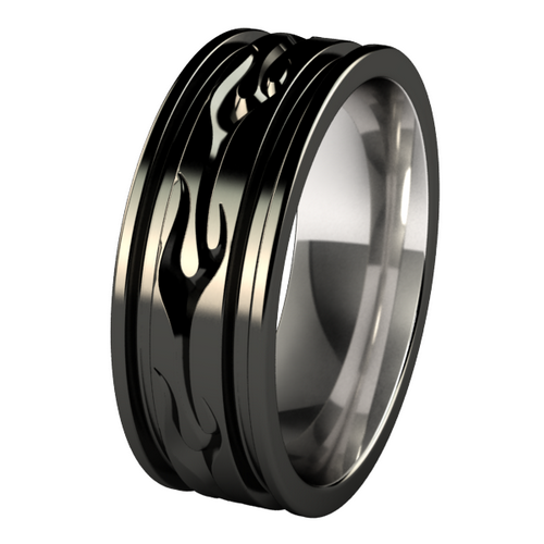 black wedding rings for men titanium unique black wedding rings