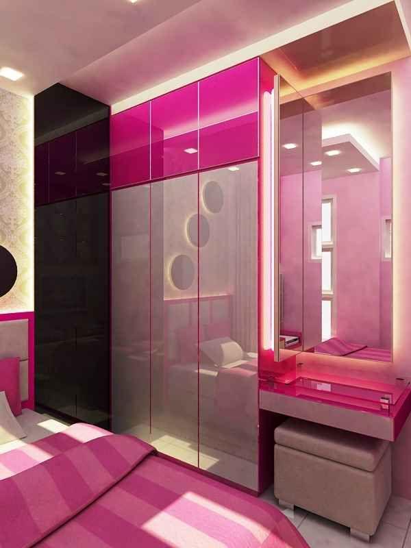 Modern Wardrobe With Dressing Table   Cupboard design ...