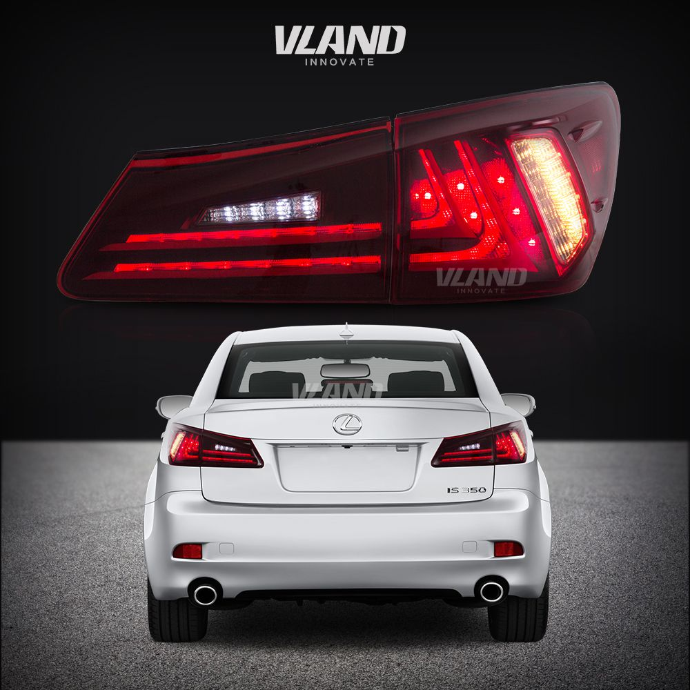 Vland Car Lamp For 2006 2012 Is250 Is350 Led Taillights Car Accessories View Tail Lamp Vland Product Details From Zhejiang Yuanzheng Auto Motorcycle Accesso Tail Light Car Showroom Design Car Accessories
