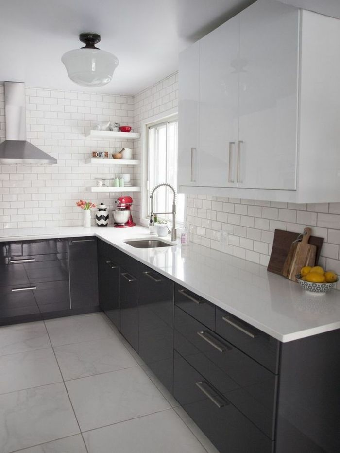 La cuisine laquée - une survivance ou un hit moderne? Kitchens
