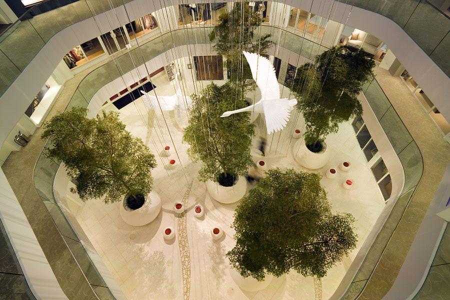 Chelsea Harbour Design Centre Shopping Mall Interior Boutique Interior Design Design