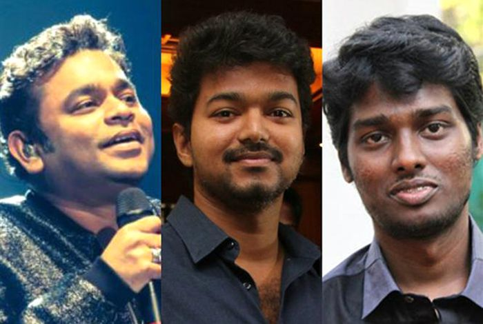 Atlee, AR Rahman join together for Vijay's 'Thalapathy 63'