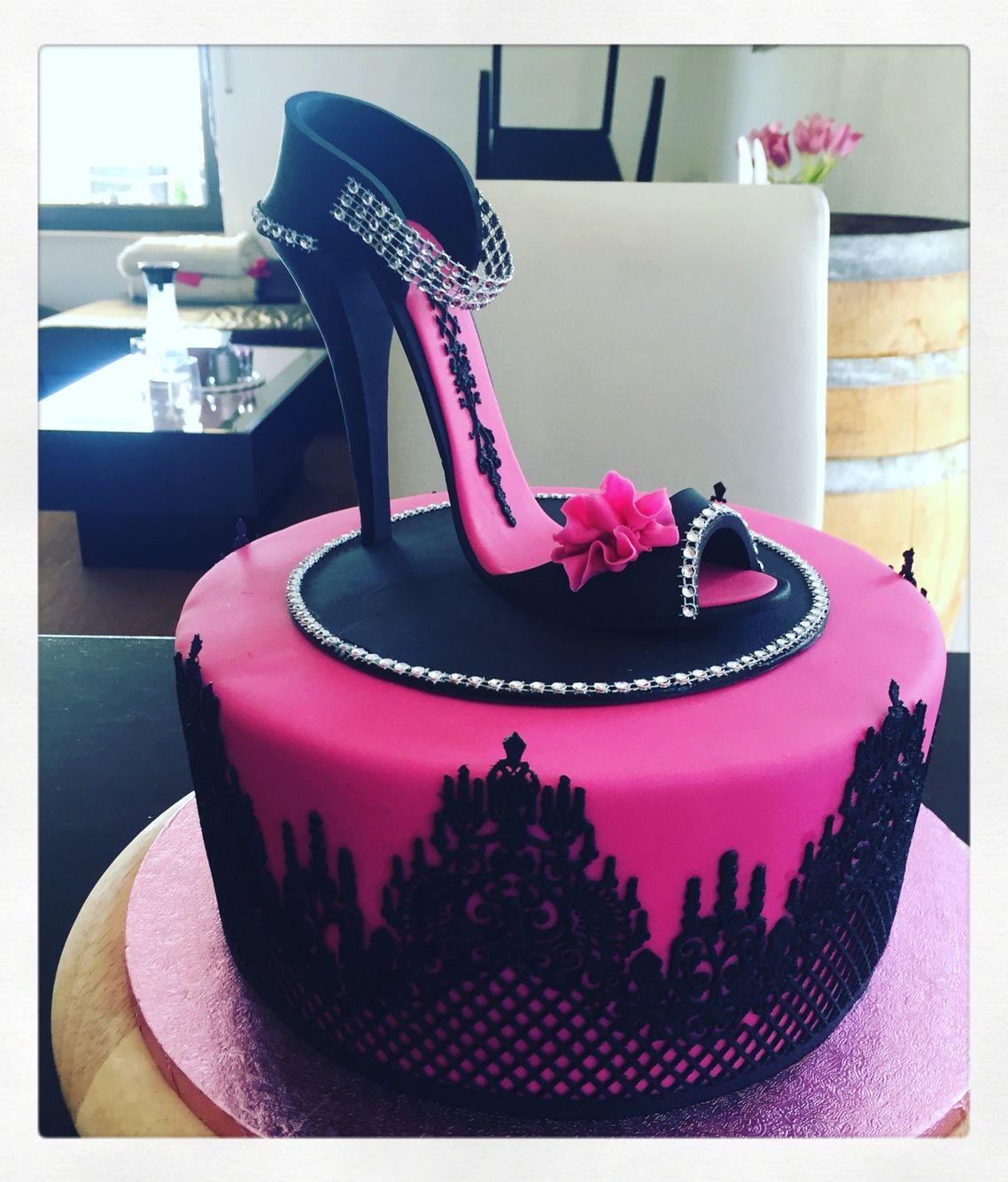 High Heel Cake, Schuh Torte   High Heel cake   Pinterest