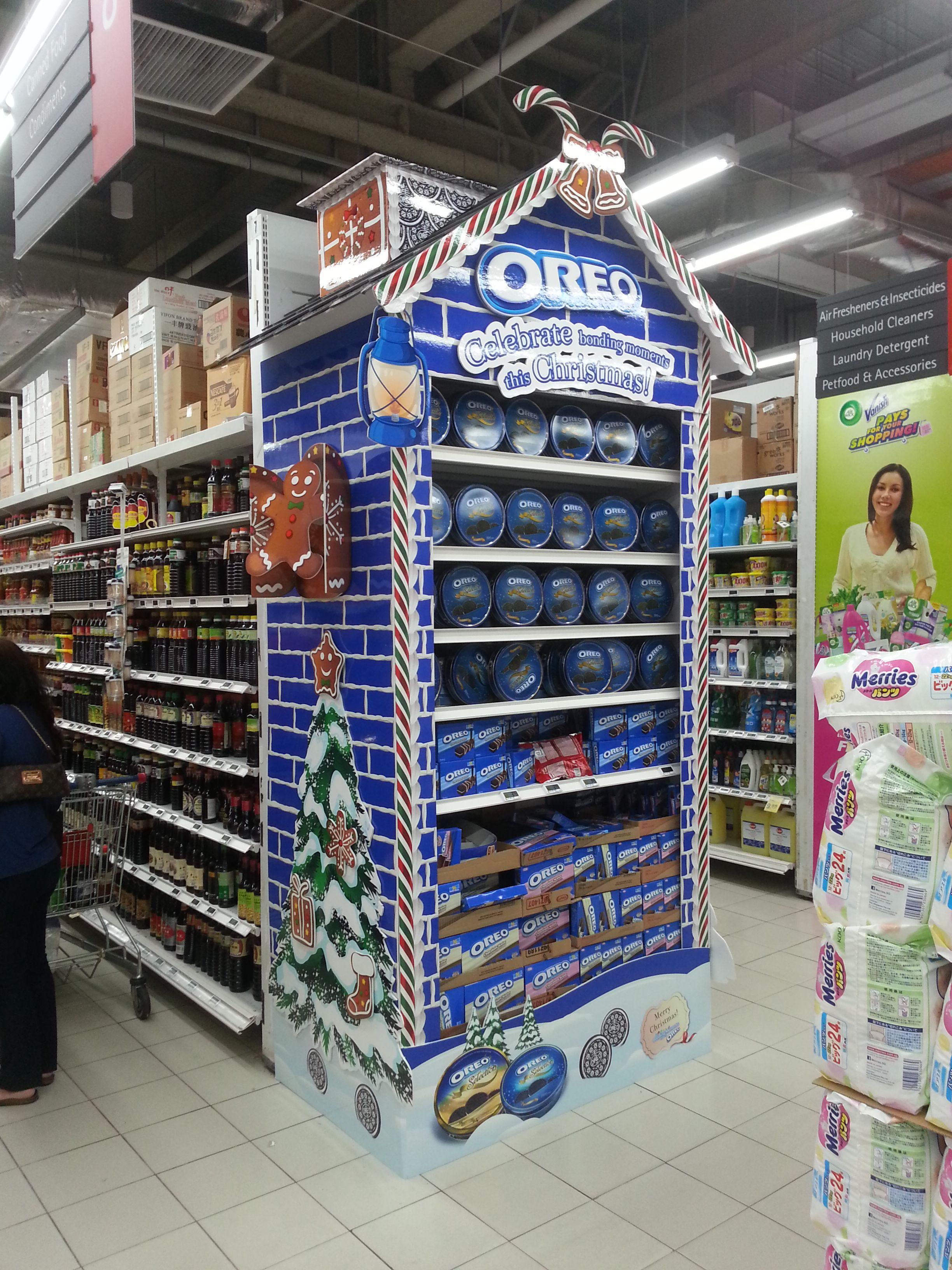Posm design sofy posm design - Supermarket Design Promotional Ends Promo End Fixture Oreo