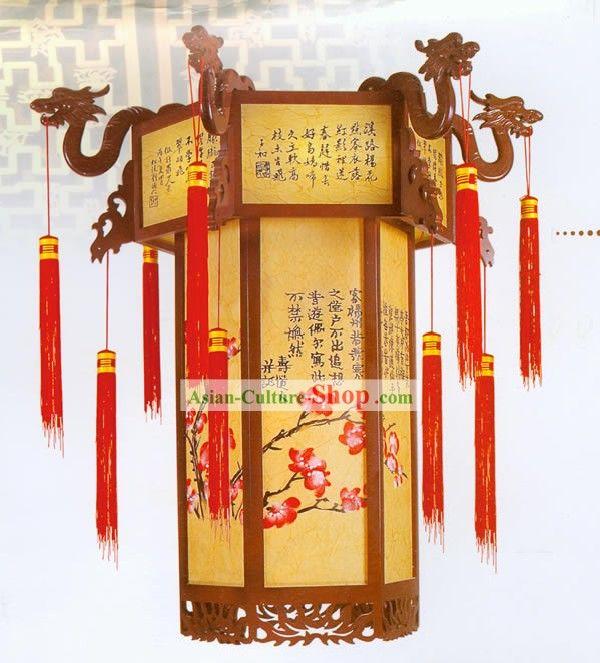 Chinese Palace Lanterns Chinese Traditional Hand Made Palace Lantern Painted Ceiling Lantern Painted Ceiling Chinese Ornament Lanterns