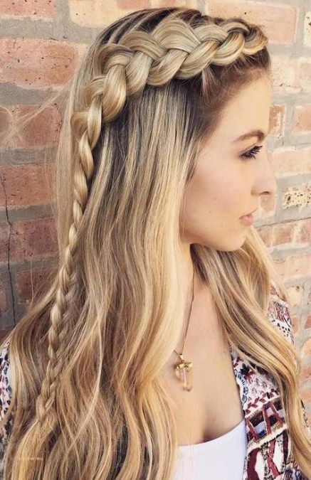 Hairstyles straight hair for school 49 ideas for 2019