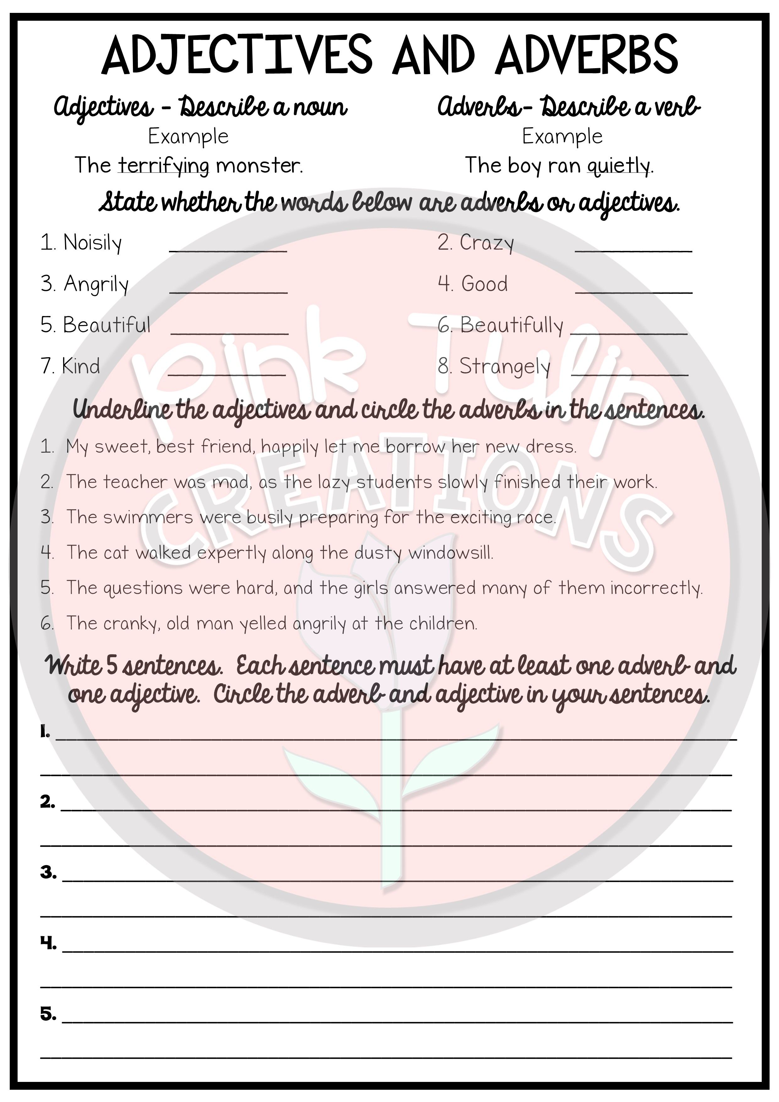 - No Prep Early Finisher Worksheet Pack - Great For Substitute