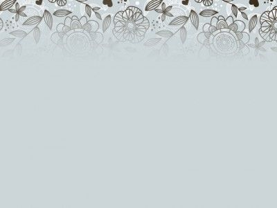 Grey Floral Pattern Ppt Backgrounds Grey Floral Floral Pattern