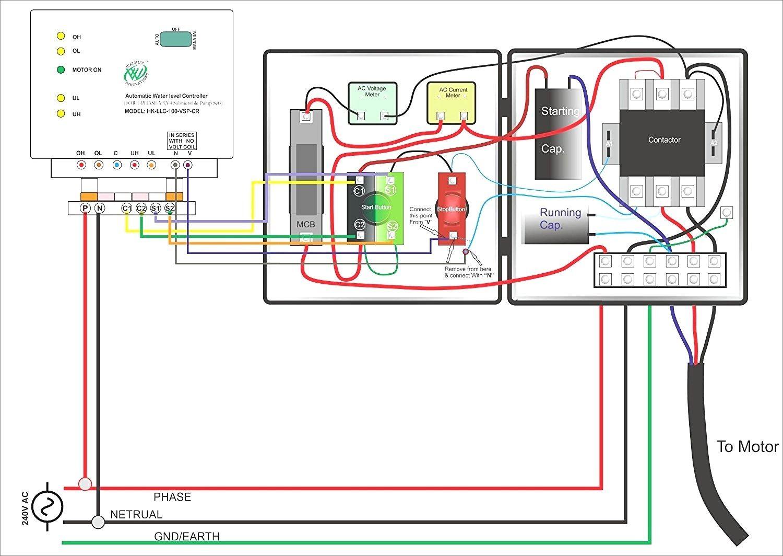 Single Phase Starter Wiring Diagram
