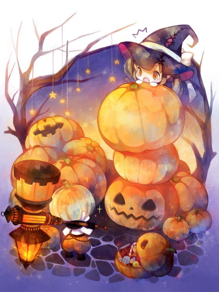 Pinterest Anime, Halloween, Dễ thương
