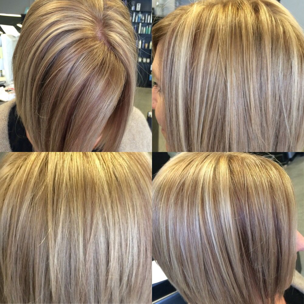 Dark Blonde With Highlights And Red Brown Lowlights Hair